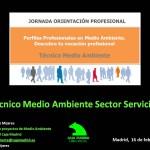 Jornadas de Orientación: Técnico de Medio Ambiente en Sector Servicios