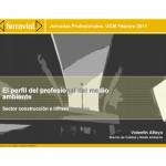 Jornadas de Orientación: Técnico Medioambiental en Construcción