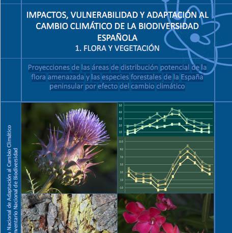 Impactos vulnerabilidad y adaptaci n al cambio clim tico de la biodiversidad espa ola - Oficina espanola de cambio climatico ...