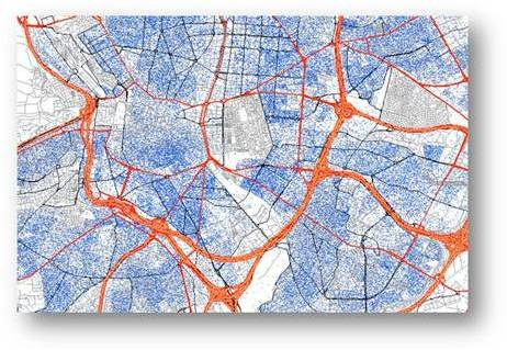 Datos de distribución de la población.