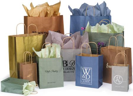 c0cd39d62 Las bolsas de papel se convierten en una alternativa al plástico en grandes  superficies comerciales