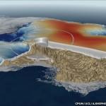 Primer mapa de la densidad del hielo Ártico