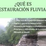 ¿Qué es restauración fluvial?