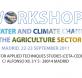 workshop water and climate change
