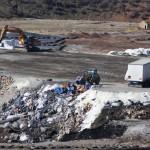 La Junta de Andalucía restringe a la mitad la entrada de residuos peligrosos a Nerva