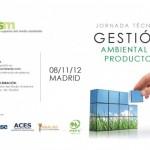 Presentaciones Jornada Técnica de Gestión Ambiental de Producto