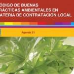 Código de buenas prácticas ambientales en contratación local