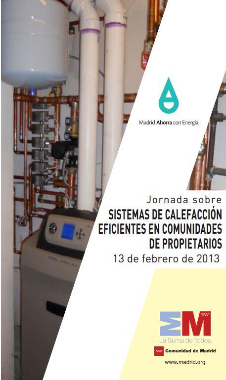 Jornada sobre sistemas de calefacci n eficientes en - Calefaccion mas eficiente ...