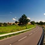 Cenizas de aguas residuales para construcción de carreteras