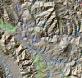 Ilustración 1 Cartografía regional sobre sombreado del terreno generado a partir de SRTM