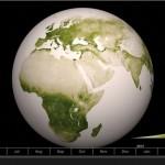 La NASA presenta un nuevo mapa de vegetación terrestre
