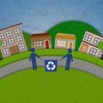 Infografía animada sobre reciclaje