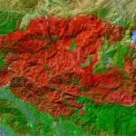 Cartografiando las áreas quemadas con imágenes de satélite
