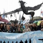 Nunca Máis y ecologistas indignados con la sentencia del Prestige