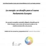 La energía: Un desafío para el nuevo Parlamento Europeo