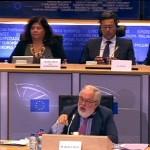 Declaraciones de Arias Cañete ante la Comisión Europarlamentaria