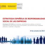 Aprobada la Estrategia de Responsabilidad Social de las Empresas 2014- 2020