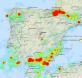 Ilustración 3 Actividad sísmica en España en 2010 (Imagen Herramienta SIS de Argongra)