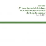 III Inventario de Iniciativas de Custodia del Territorio del Estado Español