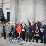 Constituido el grupo interparlamentario de la bicicleta