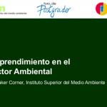 Emprendimiento en el Sector Ambiental