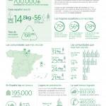 Los españoles reciclamos una media de 56 envases de vidrio anualmente