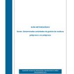 Guía Metodológica para actividades de gestión de residuos peligrosos y no peligrosos