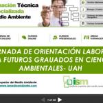 Presentación Jornada de Orientación Laboral para Ambientólogos de la UAH