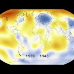Anomalías en la temperatura mundial desde 1880 a 2015