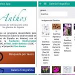 Anthos, dos millones de datos botánicos en una app