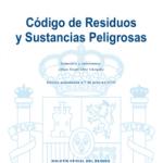 Código de Residuos y Sustancias Peligrosas 2016