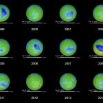 El agujero de la capa de ozono se recupera por primera vez