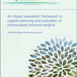 An impact evaluation framework to support planning and evaluation of nature-based solutions projects