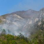 La oleada de incendios en la cornisa cantábrica tendrá graves consecuencias medioambientales