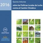 V Informe de Políticas Locales de lucha contra el Cambio Climático