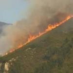 El fuego amenaza también espacios protegidos en el norte de España