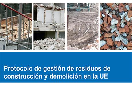 Resultado de imagen de Protocolo de gestión de residuos de construcción y demolición en la UE
