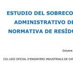 Estudio del Sobrecoste Administrativo de la Normativa de Residuos