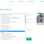 Clasificador de residuos