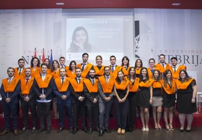Graduación de los alumnos del Máster en Gestión Ambiental en la Empresa 2016/2017