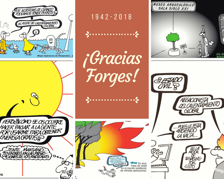 Homenaje a Forges, gran defensor del Medio Ambiente