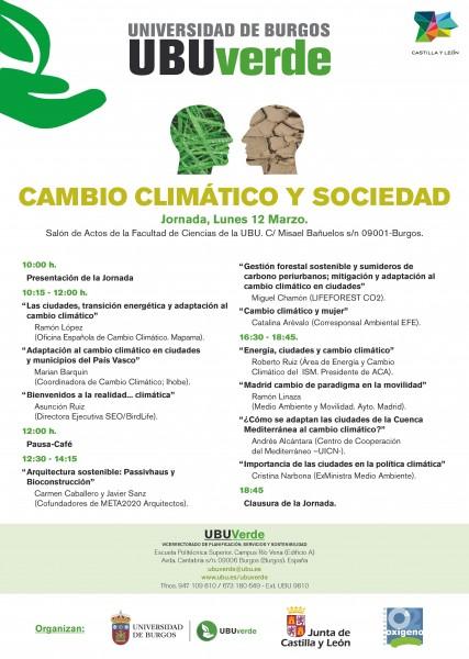 Jornada Cambio Climático y Sociedad - Burgos