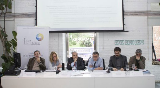 Presentación del informe Hacia una transición energética sostenible de la Fundación Renovables