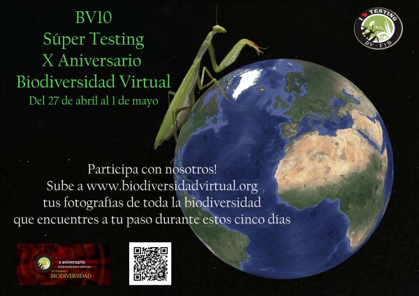 Testing de biodiversidad Virtual. Supertesting