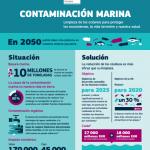 Infografía:Contaminación Marina #OurOcean