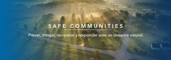 ESRI Safe communities