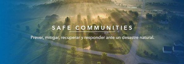 ESRI Safe communities