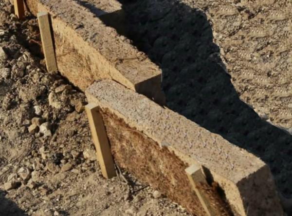 Fajina patentada para recuperación de suelos afectados por incendios
