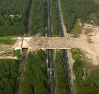 Overpass. Ecoduct Hulshorst Holland