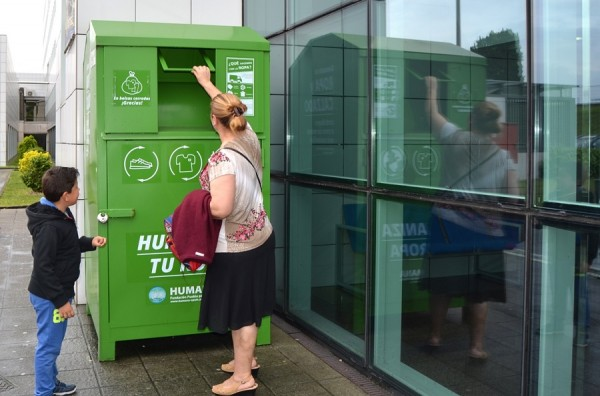 Ropa usada - Humana - reciclaje